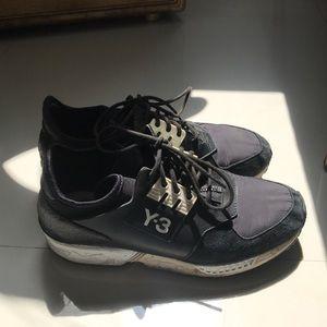 Y-3 zipper sneakers